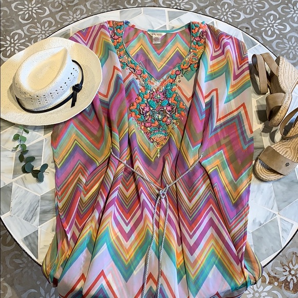 Lucky & Coco Resort style coverup